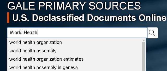 美中臺關係與互動:U.S. Declassified Documents Online(美國解密文件資料庫)
