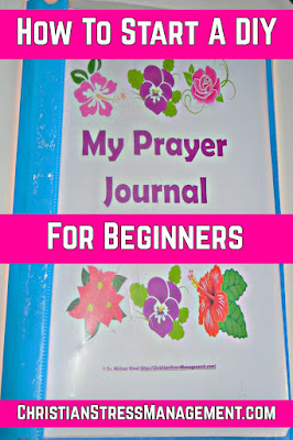 How to start a DIY Prayer Journal for beginners