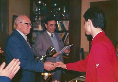 Trofeo por equipos del XV Abierto Sant Andreu 1986