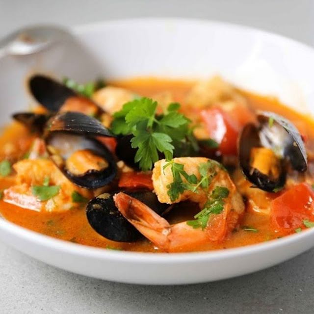 SUMMER SEAFOOD STEW