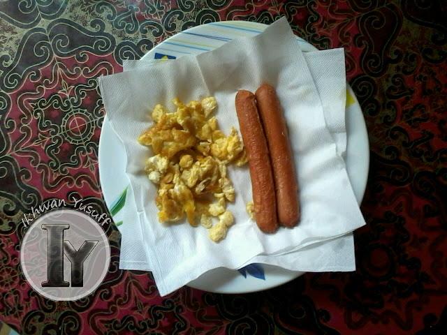 Day 1 : Menu Sarapan Diet Atkins