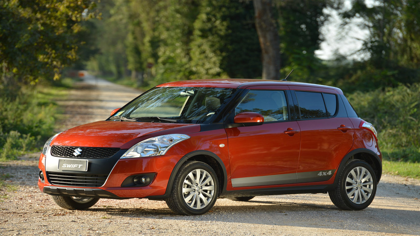 suzuki swift 4 4 outdoor the utility is now more capable off road dream fantasy cars. Black Bedroom Furniture Sets. Home Design Ideas