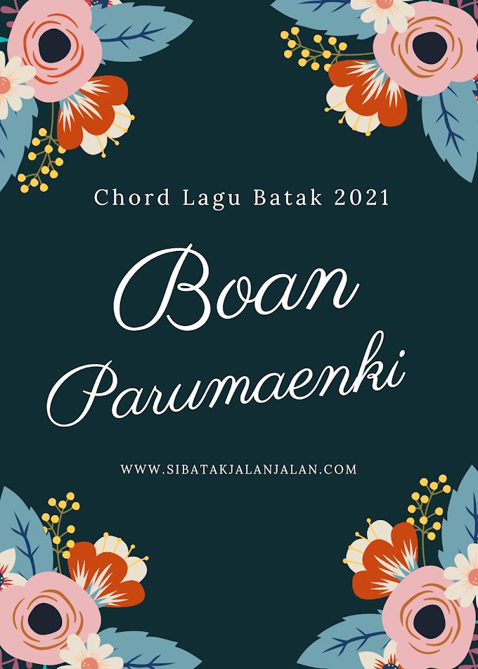 """Chord Lagu Batak Terbaru 2021 """"Boan Parumaenki"""" Arghado Trio Kunci Gitar Lagu Batak"""