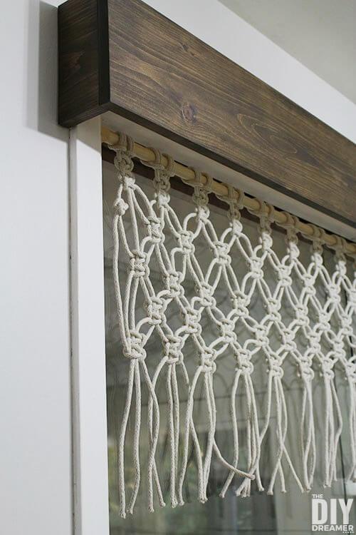 DIY wood cornice
