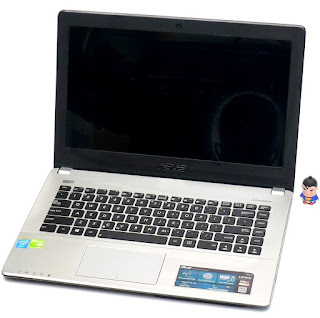 Laptop Gaming ASUS X450J Core i7 Double VGA di Malang