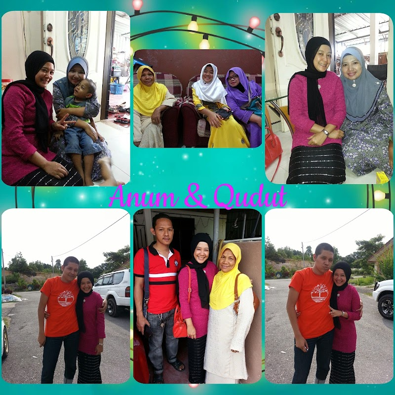 Riang Ria Raya with My Family 2015