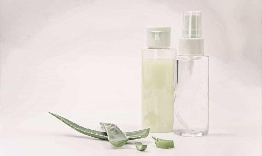 Spray refrescante para el rostro con aloe vera
