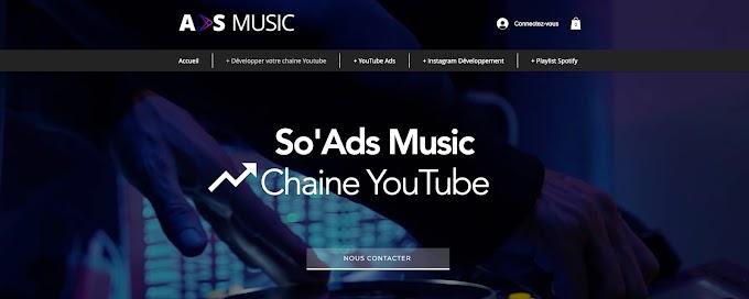 AdsMusic est-elle la meilleure agence de marketing pour développer votre chaine Youtube en 2021 ? Mon avis !