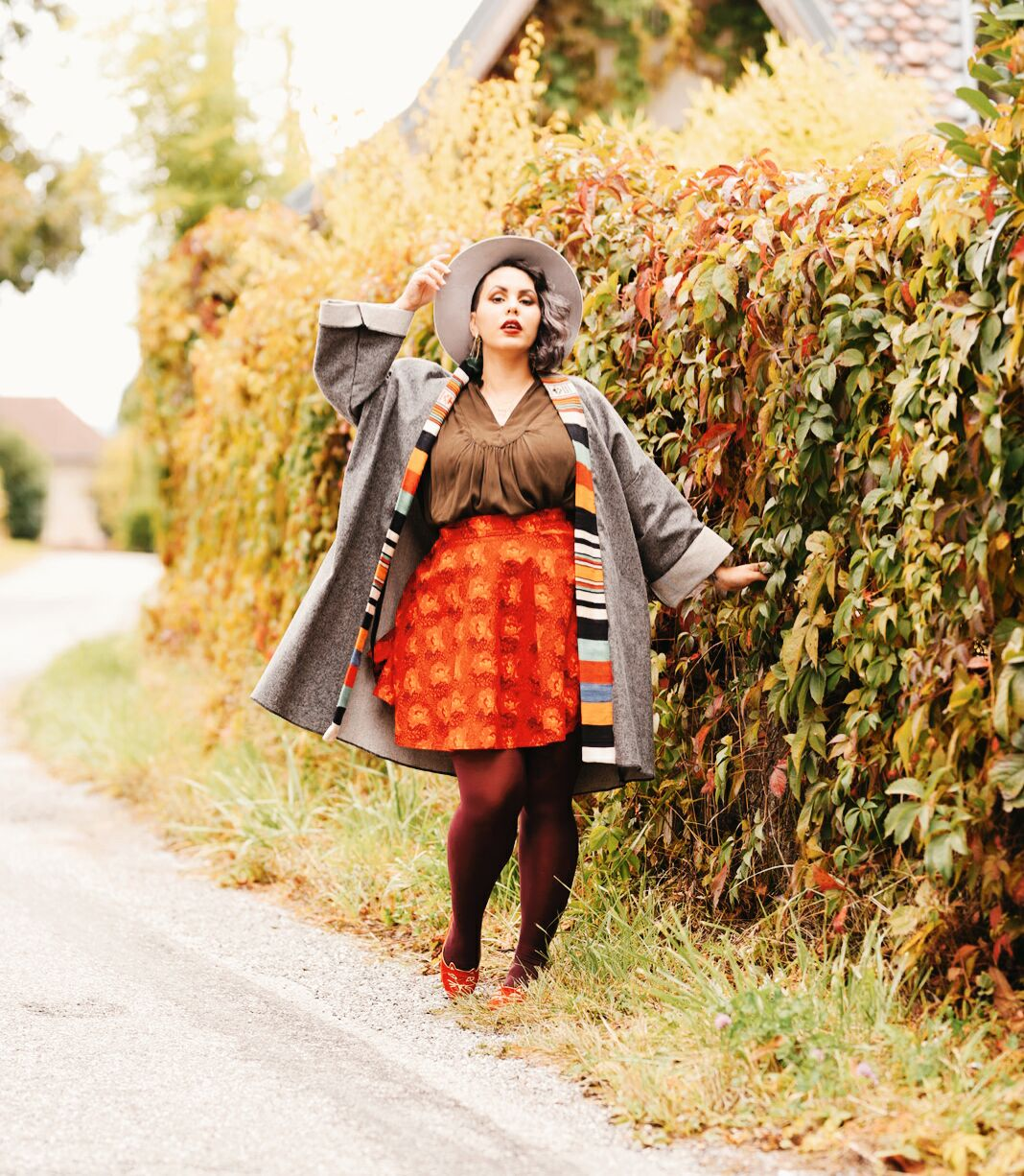 Look automne grande taille