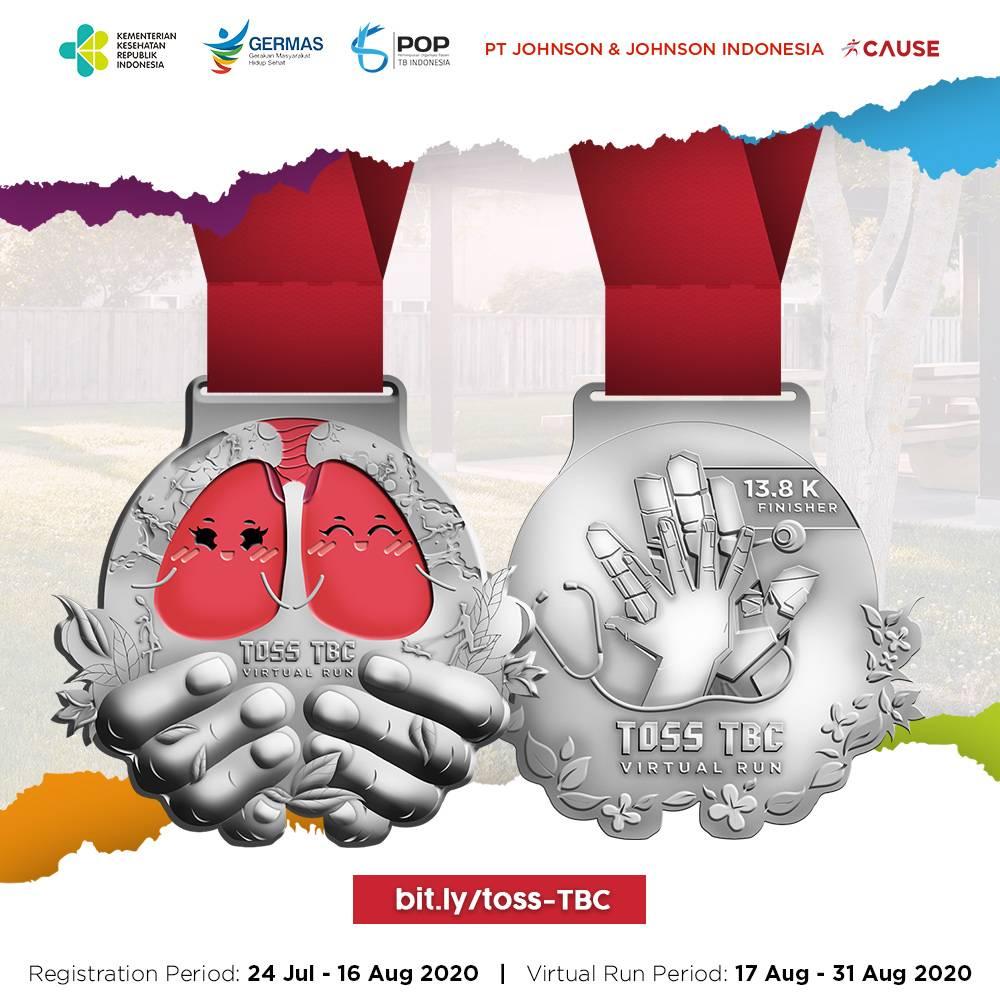 Temukan Obati Sampai Sembuh TBC - TOSS TBC Virtual Run • 2020