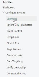 Cara Submit Sitemap ke Bing Webmaster Tools