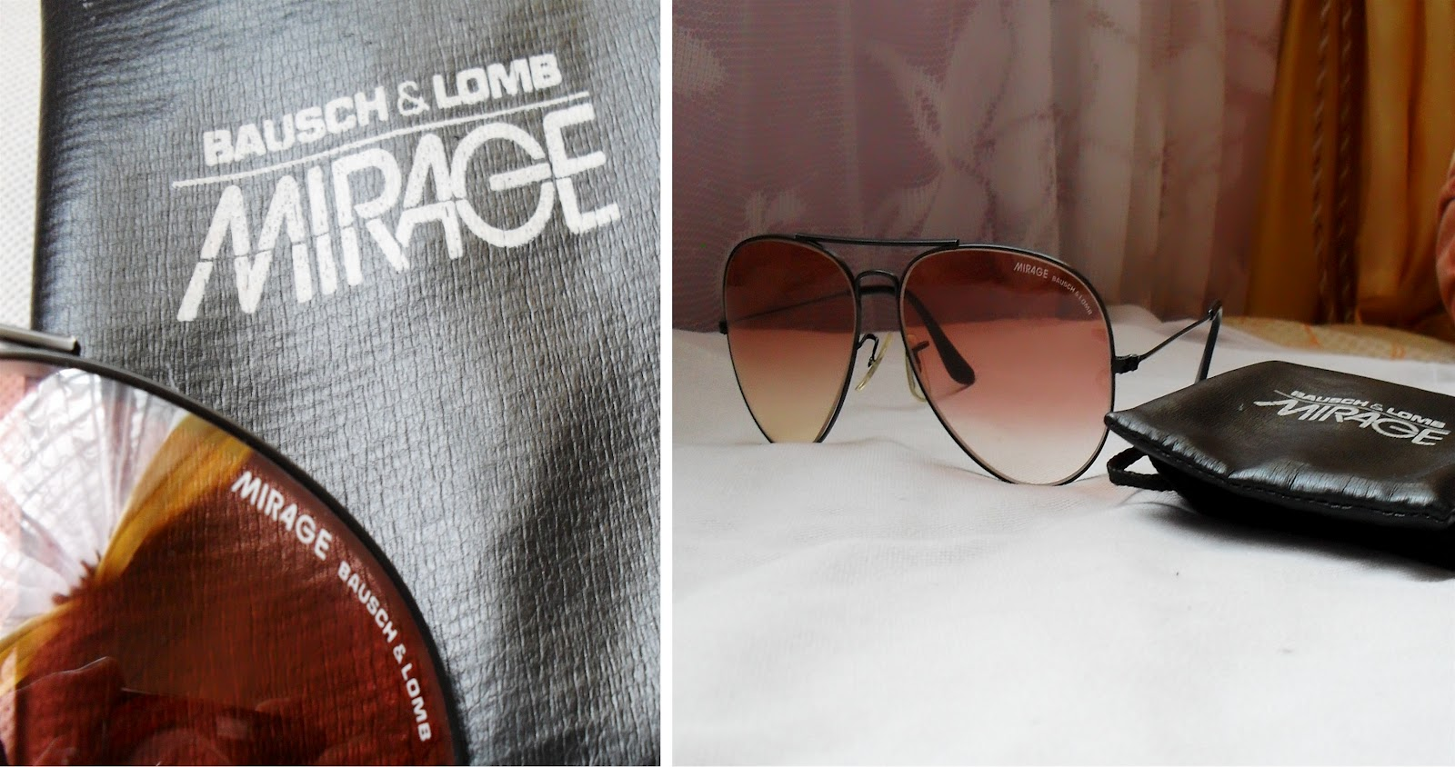 9a7eaa9a435 SOLD OUT ~ VINTAGE MIRAGE BY BAUSCH   LOMB AVIATOR SUNGLASSES ~ VERY RARE  AND HARD TO FIND