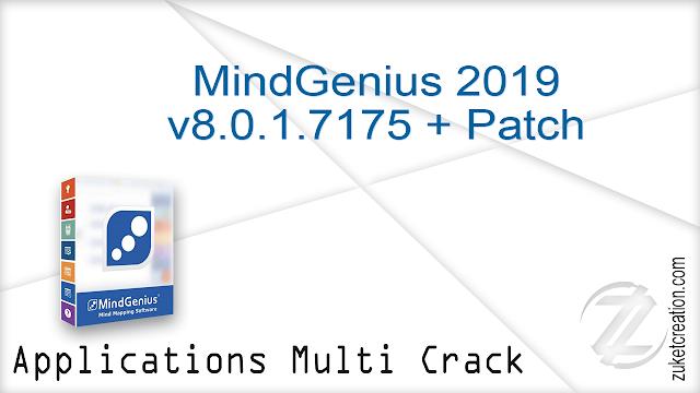 MindGenius 2019 v8.0.1.7175 + Patch