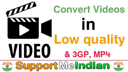 video low quality me convert kaise kare