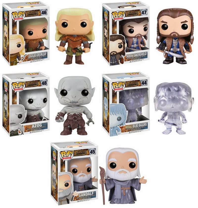 Collecting Toyz Funko Pop Movies The Hobbit The