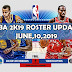 NBA 2K19 OFFICIAL ROSTER UPDATE 6.10.19 [FOR 2K19]