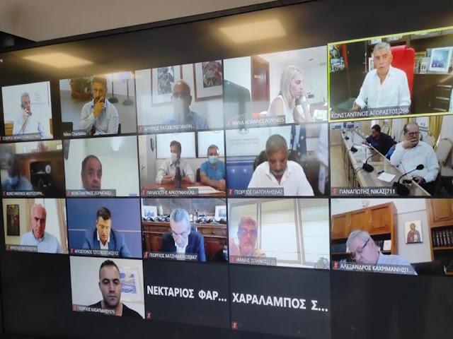Τηλεδιάσκεψη με την ηγεσία του ΕΟΔΥ είχαν οι Περιφερειάρχες της χώρας -  Παρέμβαση Χαρδαλιά