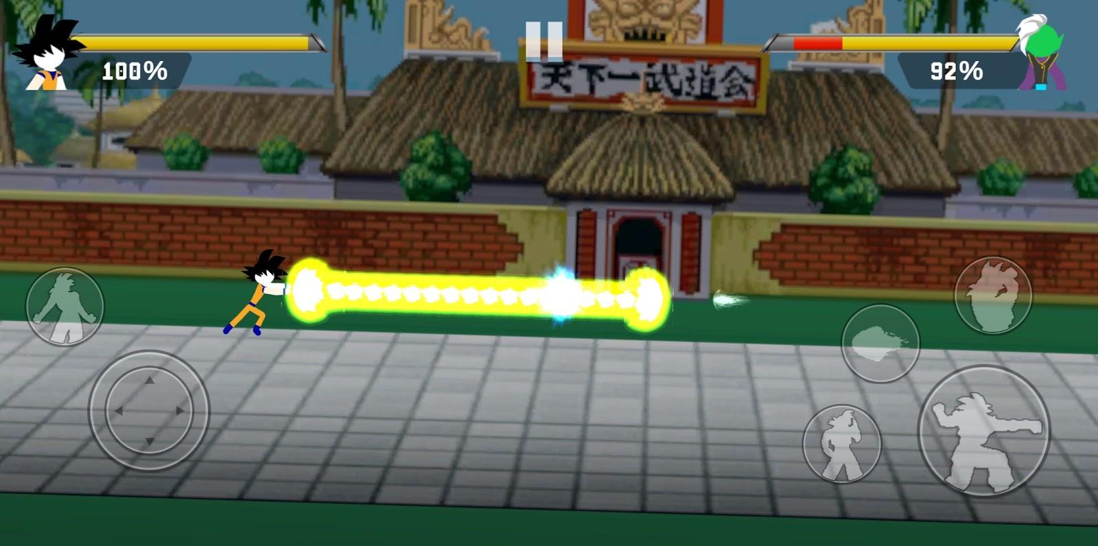 Z Stick Battle Of Dragon Super Warrior Mod Apk Version 1 2 2