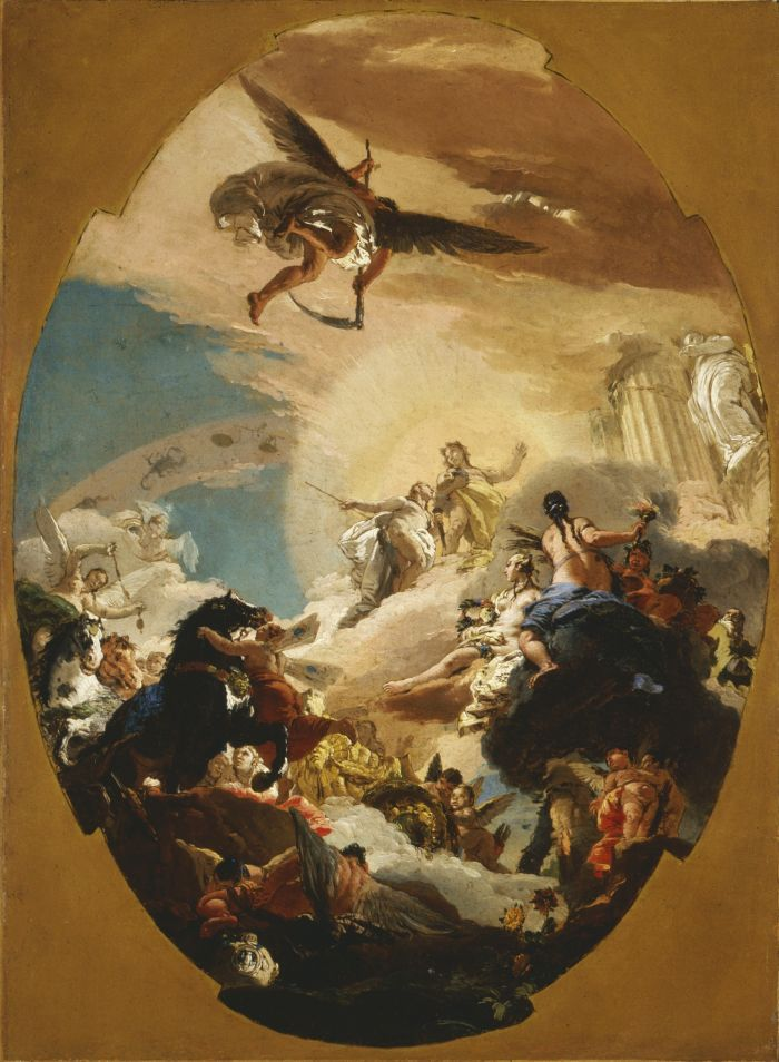 Аполлон и Фаэтон. Giovanni Battista Tiepolo