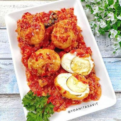 Resep Olahan Telur - Telur Balado