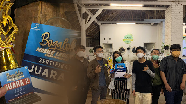 Tim E-Sport SMK TI Bali Global Badung Raih Juara 2 Bogaloka Mobile Legends Offline Tournament