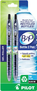 bottle to plastic recycled pens