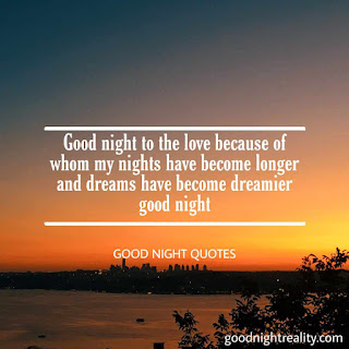 Good night image with quote download