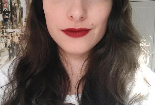 Friday Lipstick : ElsaMakeup Matte Lipstick swatch