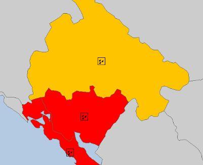 Najavljeno nevrijeme u Crnoj Gori: Crveni meteo alarm na snazi