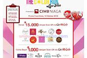 Promo Scan QR Kartu Kredit / Debit CIMB NIAGA 13 Oktober 2019