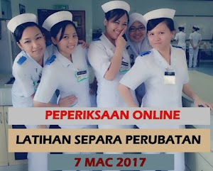 Contoh Soalan Peperiksaan Online Latihan Separa Perubatan 2017