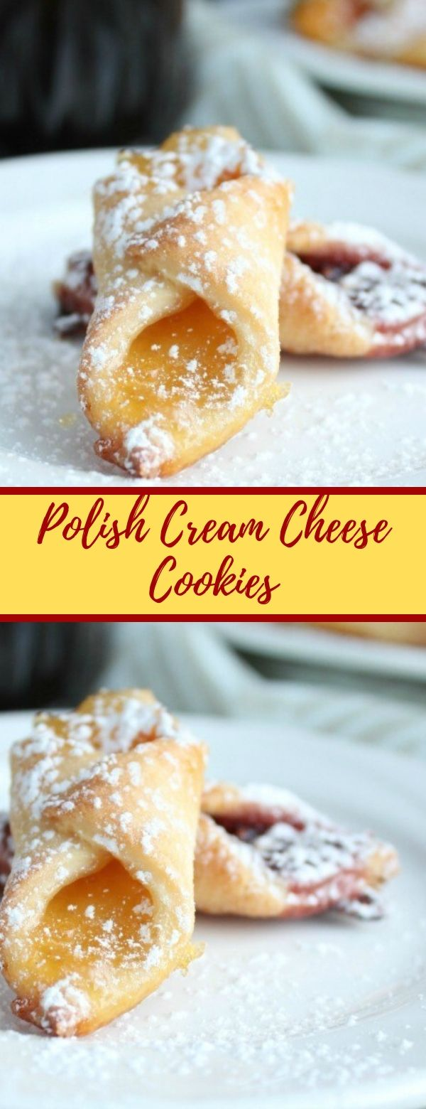 Polish Cream Cheese Cookies