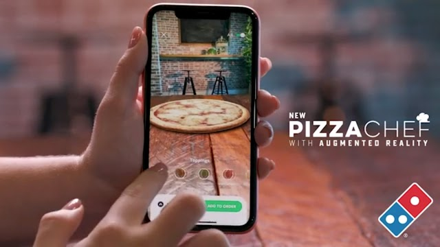 Domino's new Chef with Augumented Reality
