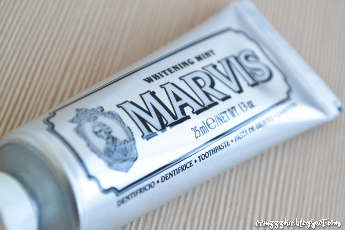 Marvis Whitening Mint Toothpaste Review