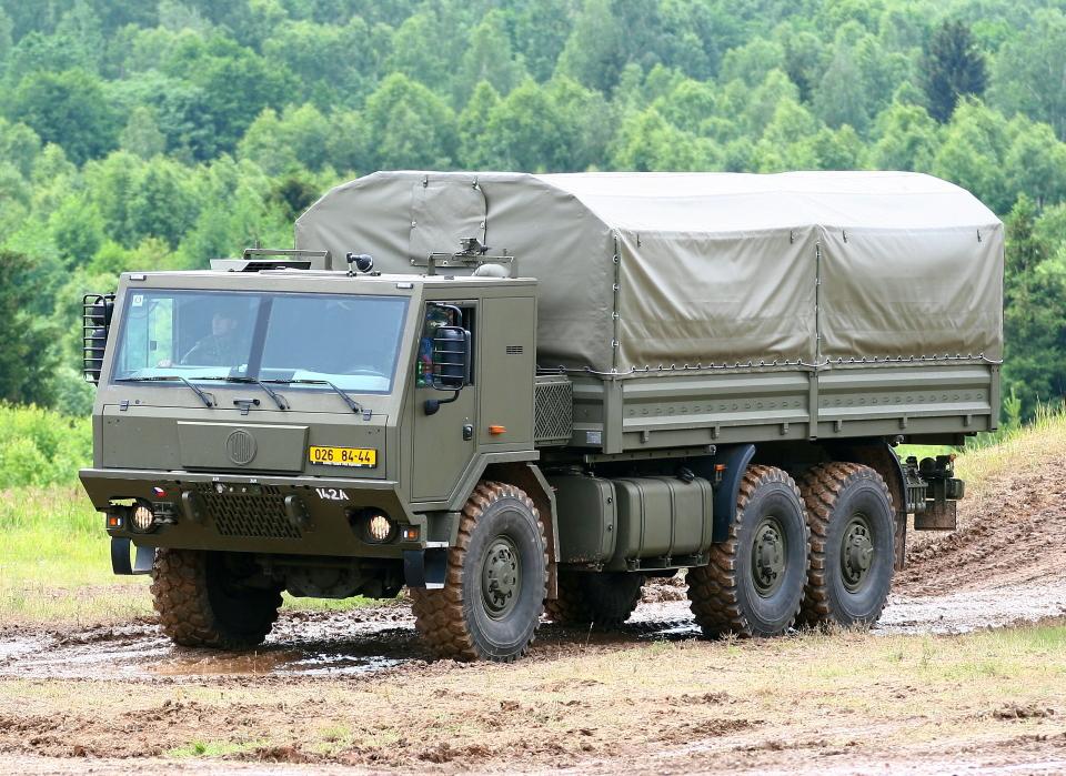 Ukrayna Silahlı Kuvvetleri tek bir Tatra şasisine geçecek