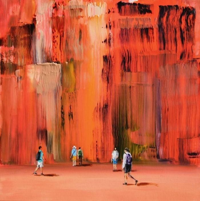 Итальянский художник. Sanja Milenkovic