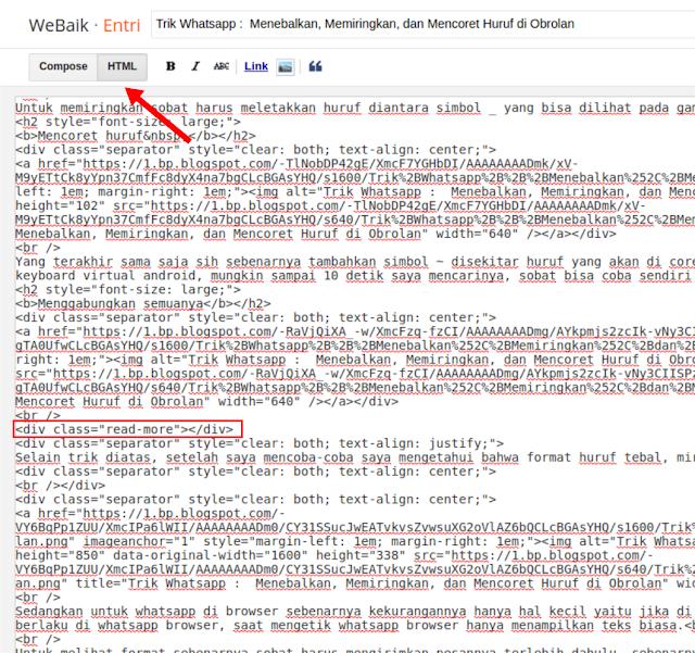 Cara Baru Menambahkan Widget Baca Juga di Tengah Artikel Blogger