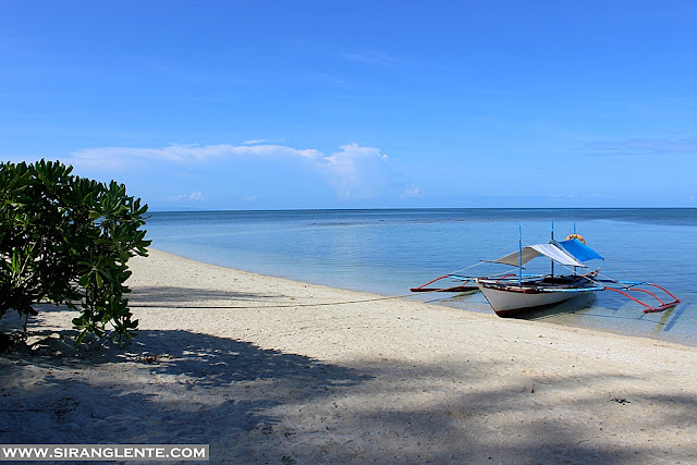 white sand beach near manila