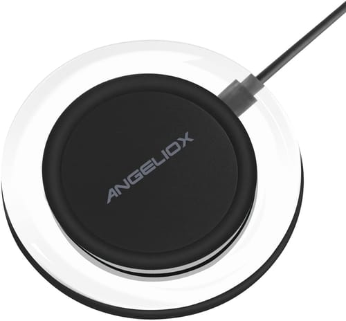 ANGELIOX Wireless Charger Kit with Qi Charging Pad