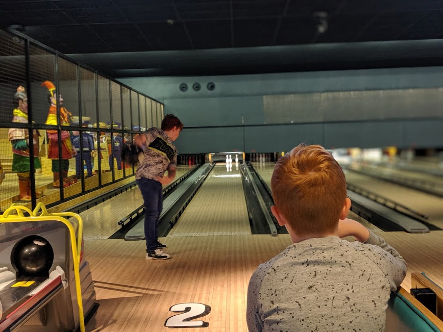 Gutterball Royal Quays Review  - bowling alley