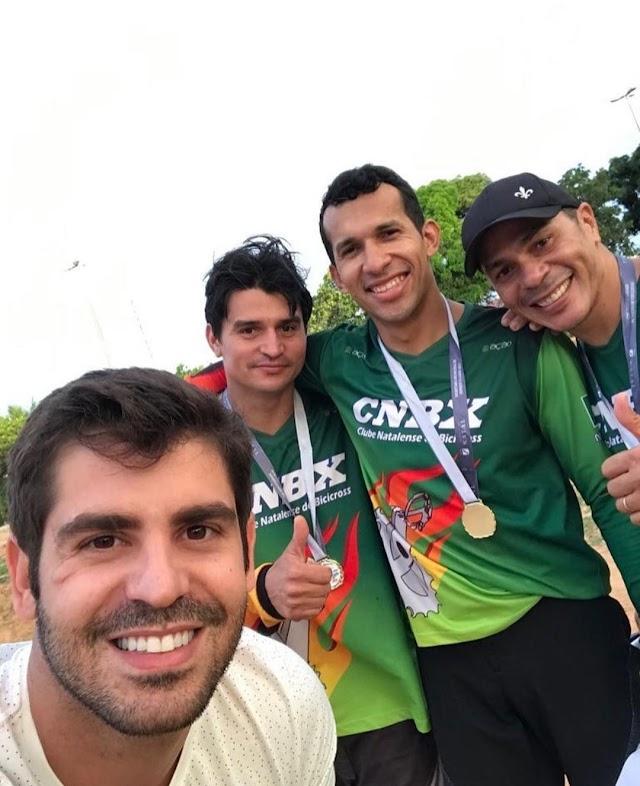 ROBSON CARVALHO PARTICIPA DA COPA NATAL DE BICICROSS