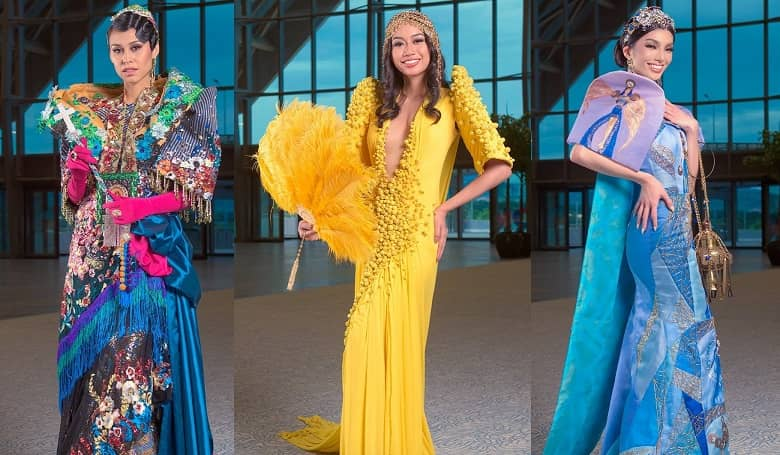 Miss Universe Philippines National Costume - Manila Carnival Queens