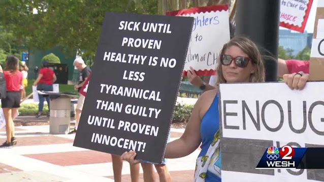 sick until proven health is no less tyrannical than guilty until proven innocent