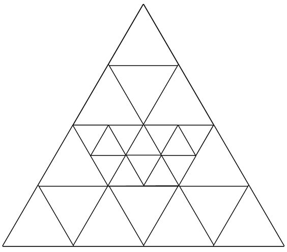 Count Number of Triangles Riddle-Shake The Brain