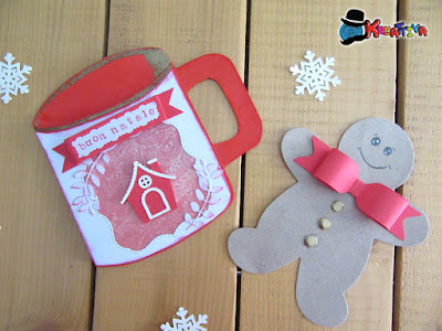Card gingerbread fai da te