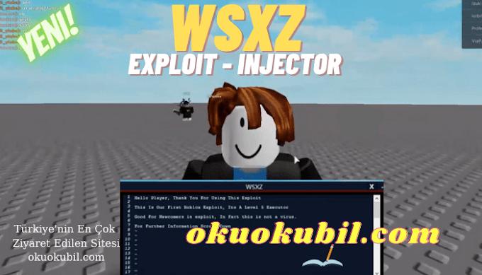 Roblox WSXZ Exploit Ücretsiz Injector Hilesi Key Yok Beklemek Yok