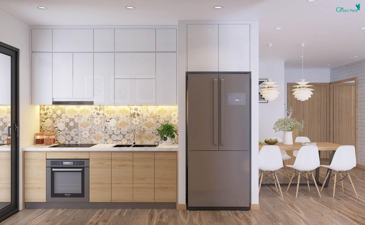 Phòng bếp chung cư Phương Đông