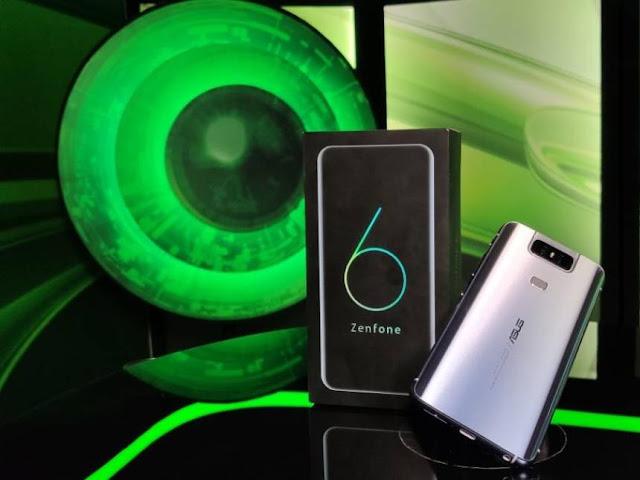 Asus presents its new smartphones