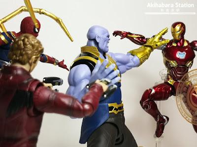 S.H.Figuarts Thanos de Avengers: Infinity War - Tamashii Nations