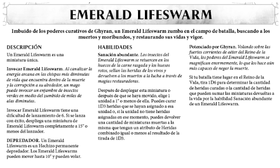 emerald lifeswarm